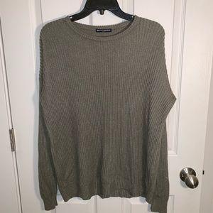 Brandy Melville Green Knit Sweater